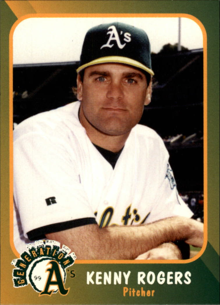 1999 A's Plumbers Union #4 Kenny Rogers