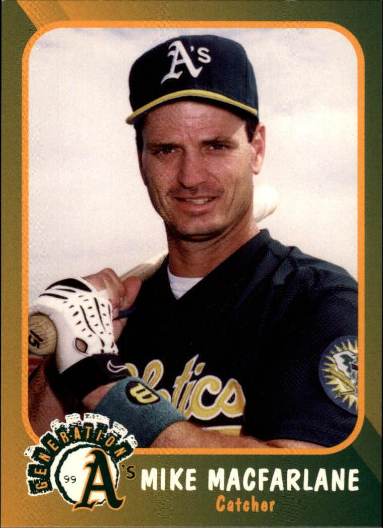 1999 A's Plumbers Union #18 Mike Macfarlane