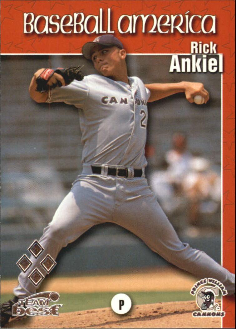1999 Baseball America Diamond Best #5 Rick Ankiel