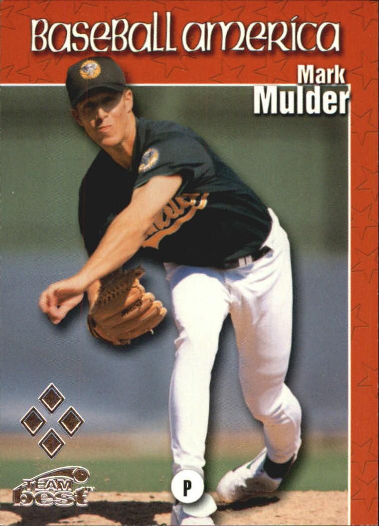 1999 Baseball America Diamond Best #70 Mark Mulder
