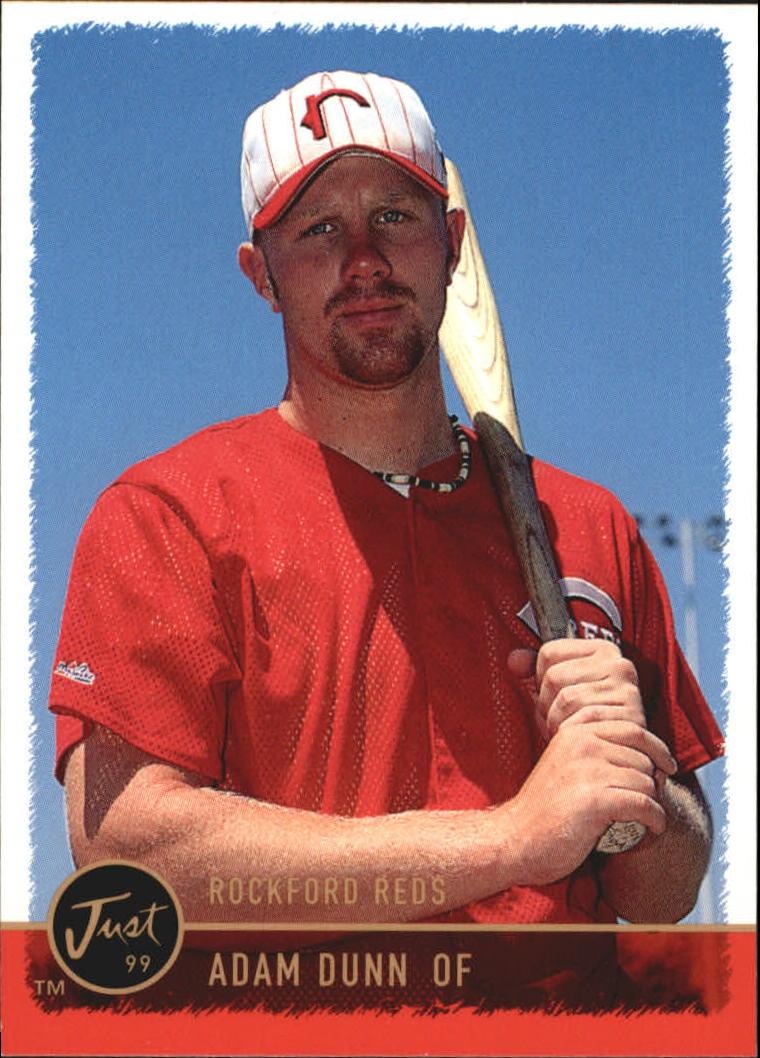 1999 Just #79 Adam Dunn