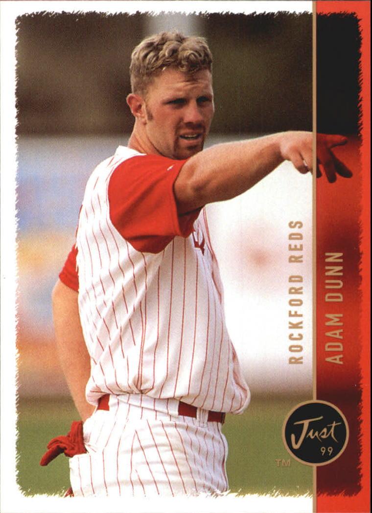 1999 Just #174 Adam Dunn