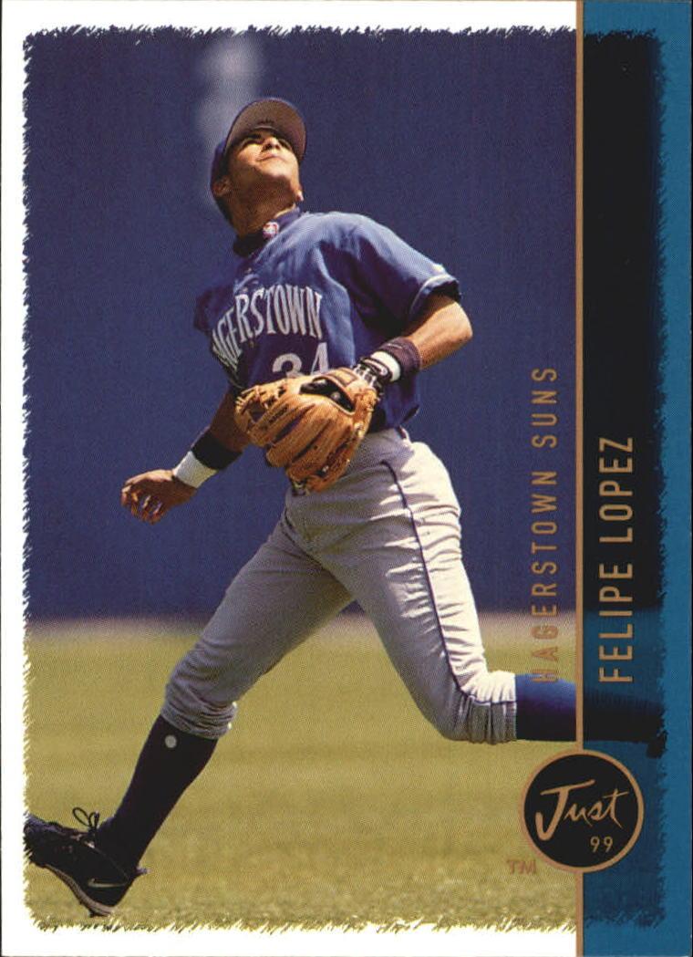 1999 Just #199 Felipe Lopez