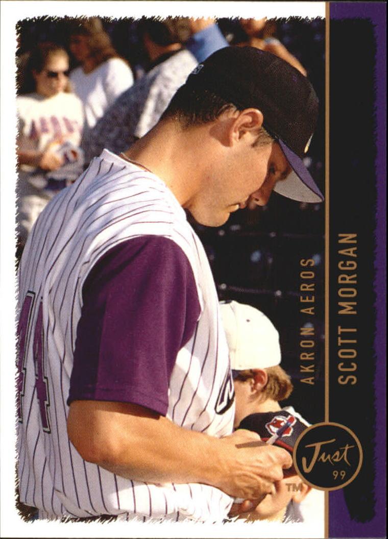 1999 Just #208 Scott Morgan