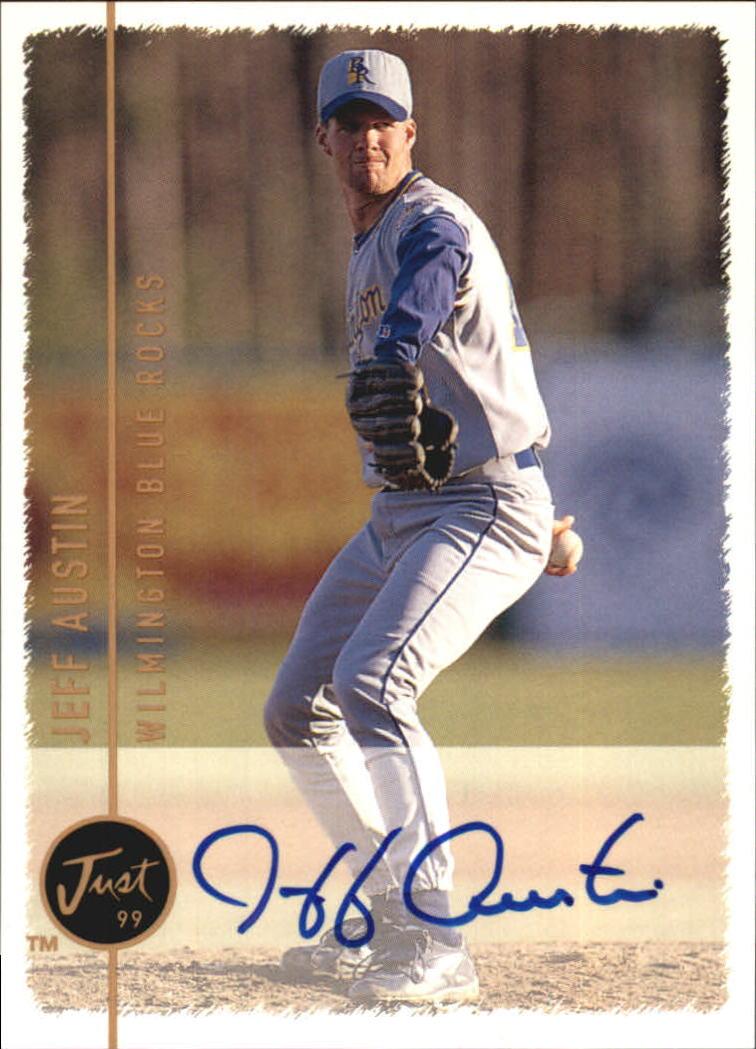 1999 Just Autographs #9 Jeff Austin IM