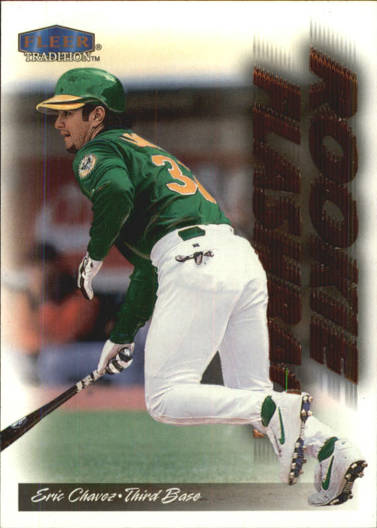 1999 Fleer Tradition Rookie Flashback 5 Eric Chavez