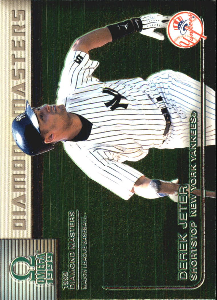 1999 Pacific Omega Diamond Masters #22 Derek Jeter