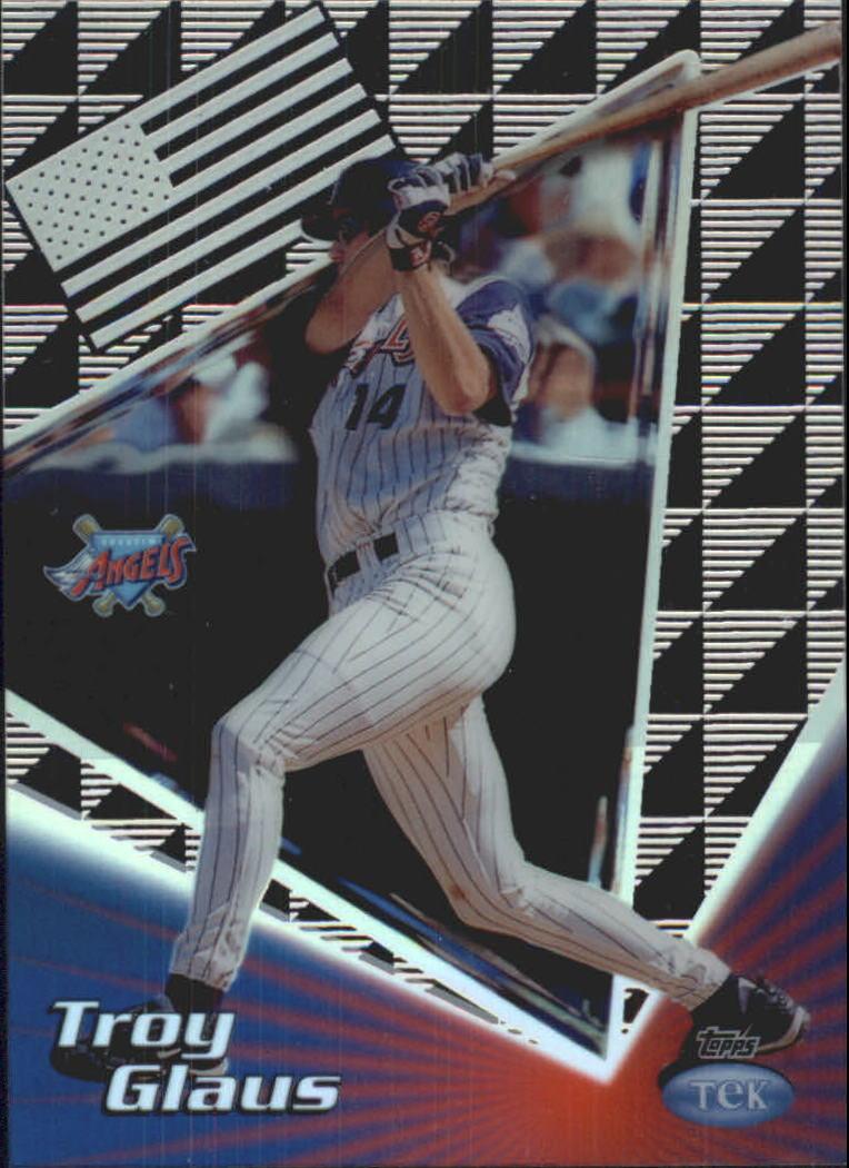 1999 Topps Tek Gold Pattern 1 #10A Troy Glaus