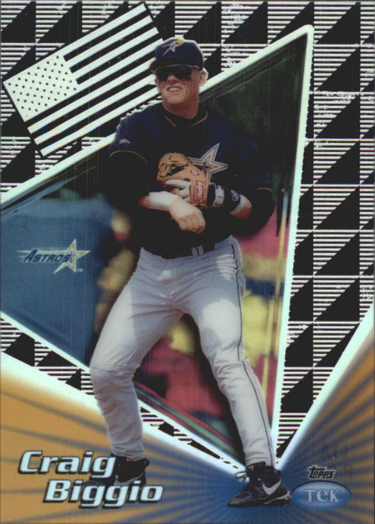 1999 Topps Tek Gold Pattern 1 #11A Craig Biggio