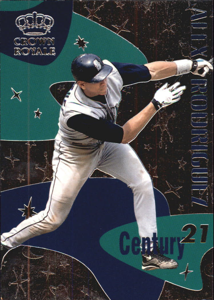 1999 Crown Royale Century 21 #10 Alex Rodriguez