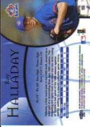 1999 Fleer Brilliants #155 Roy Halladay back image