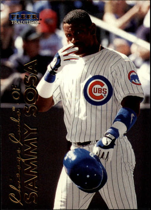1999 Fleer Tradition #2 Sammy Sosa