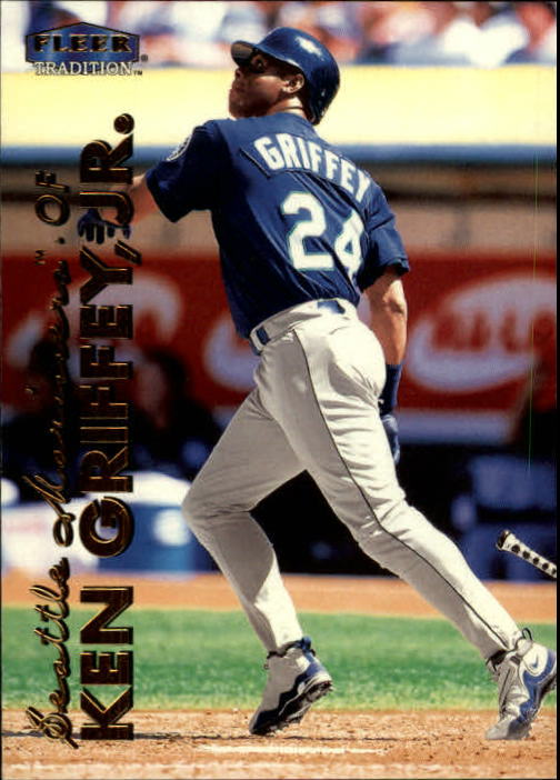 1999 Fleer Tradition #3 Ken Griffey Jr.