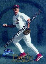 1999 Fleer Tradition #P7 J.D. Drew Promo