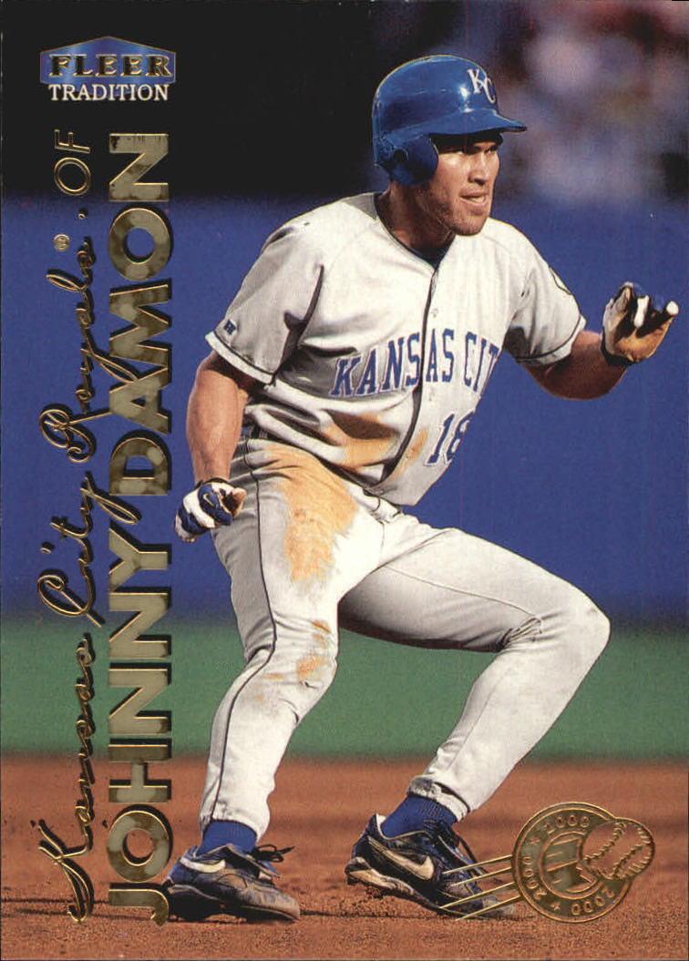 1999 Fleer Tradition Millenium #64 Johnny Damon