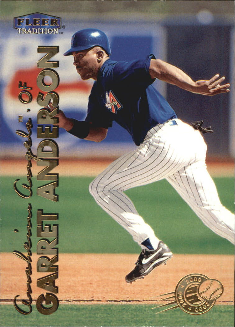1999 Fleer Tradition Millenium #66 Garret Anderson