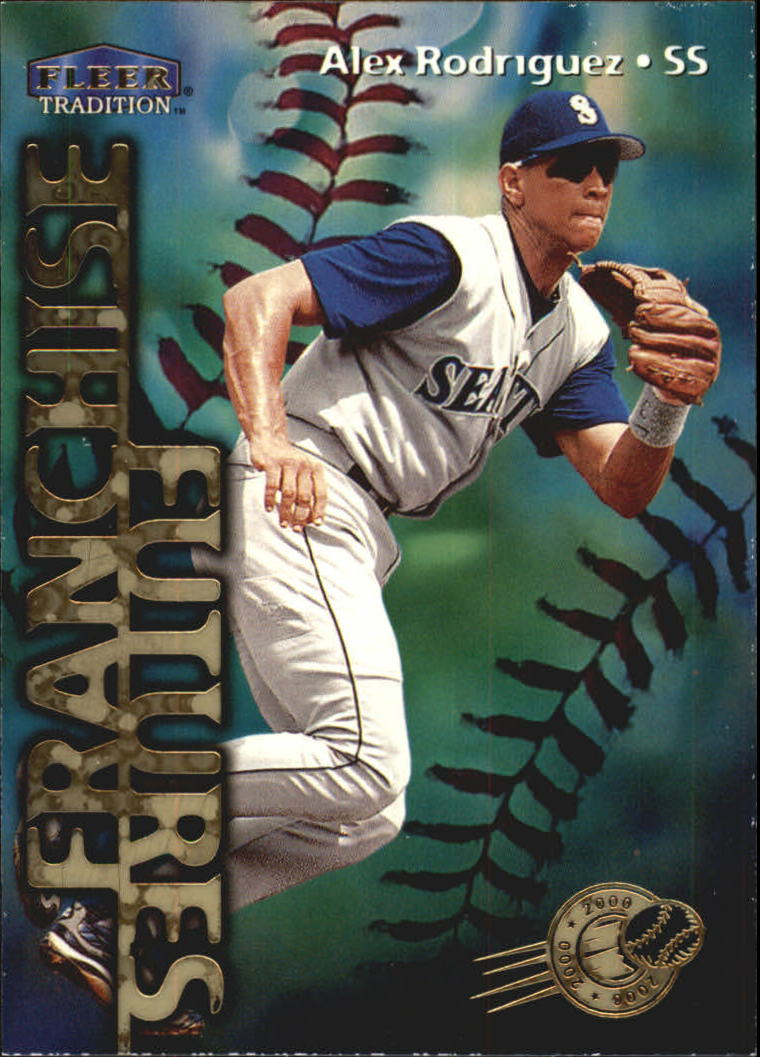 1999 Fleer Tradition Millenium #587 Alex Rodriguez FF