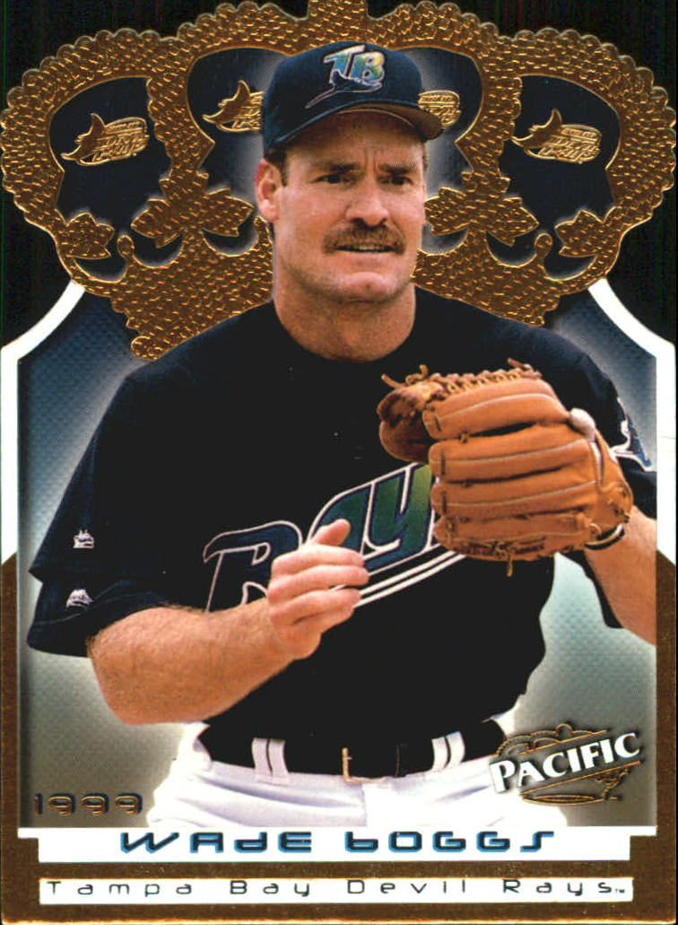 1999 Pacific Gold Crown Die Cuts #15 Wade Boggs
