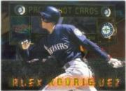 1999 Pacific Hot Cards #1 Alex Rodriguez