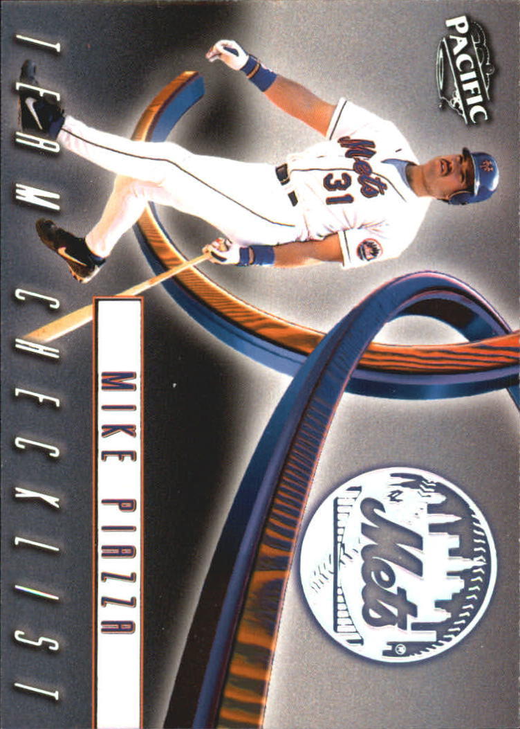 1999 Pacific Team Checklists #25 Mike Piazza