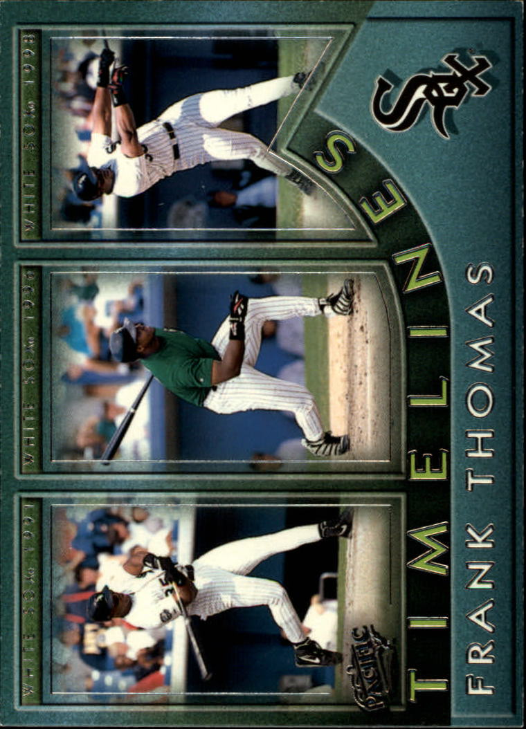1999 Pacific Timelines #2 Frank Thomas