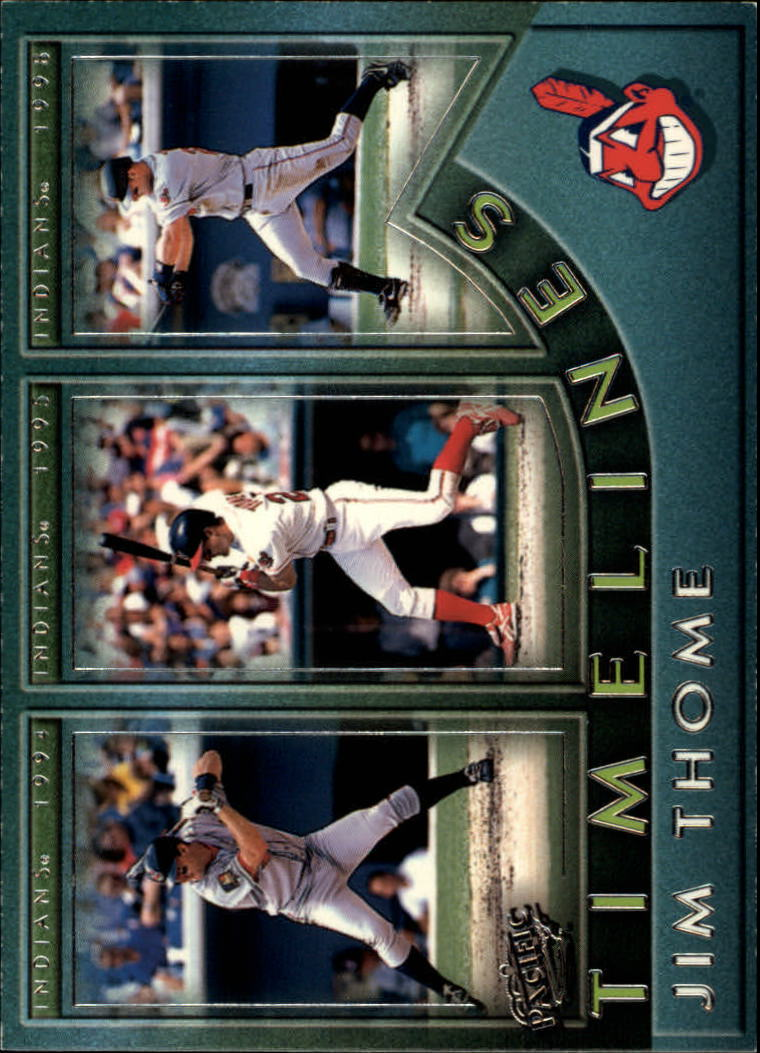 1999 Pacific Timelines #3 Jim Thome