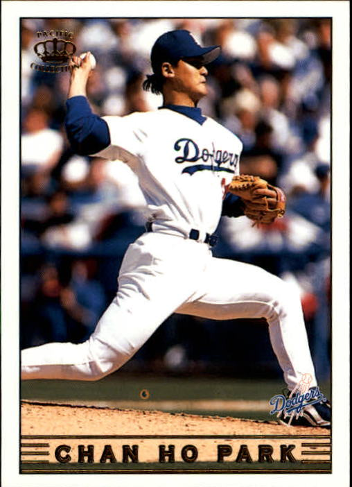 1999 Pacific Crown Collection #144 Chan Ho Park - NM-MT