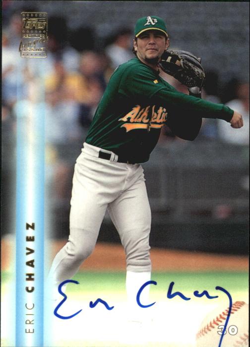 1999 Topps Autographs #A15 Eric Chavez
