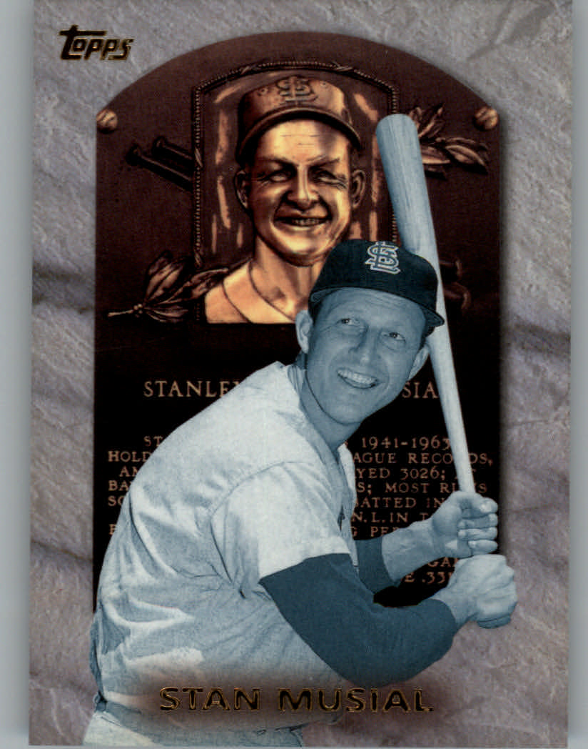 1999 Topps Hall of Fame Collection #HOF3 Stan Musial