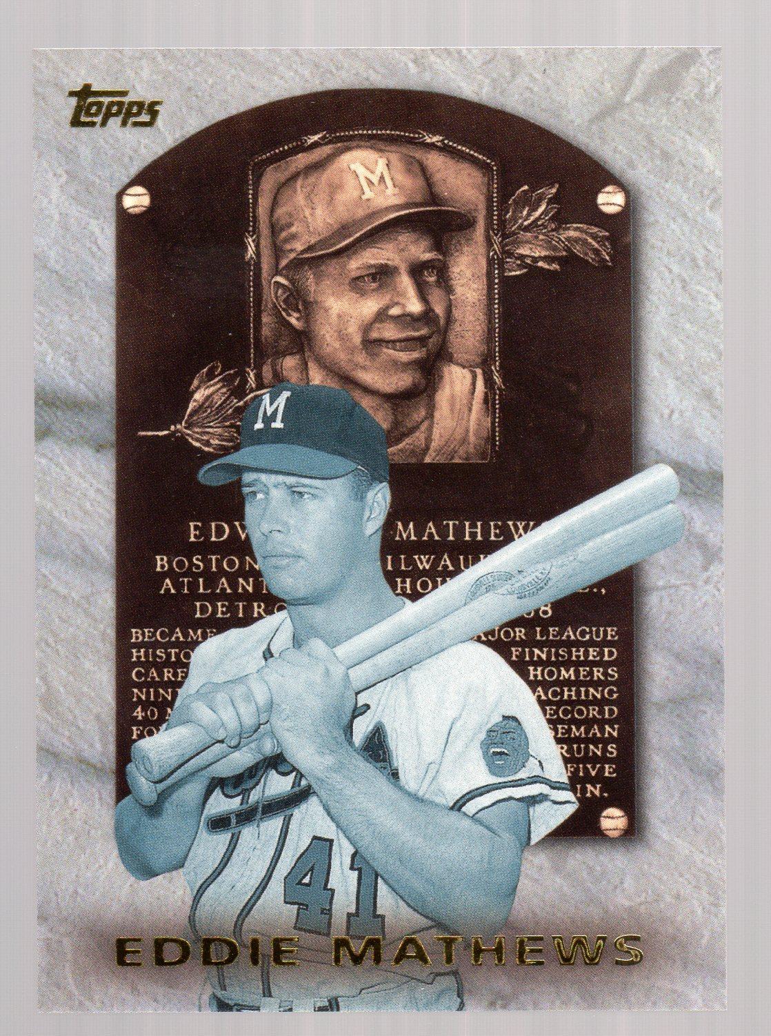 1999 Topps Hall of Fame Collection #HOF5 Eddie Mathews