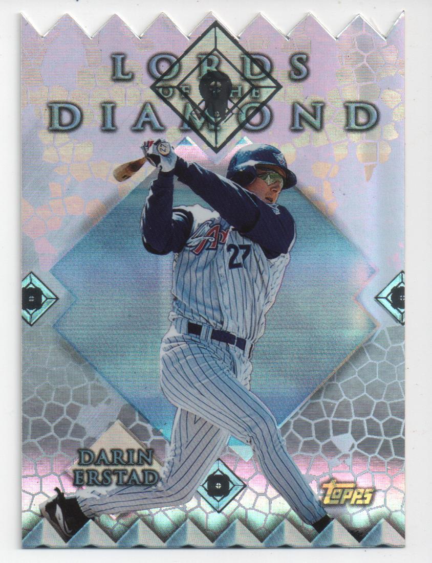 1999 Topps Lords of the Diamond #LD11 Darin Erstad