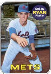 1999 Topps Ryan #2 Nolan Ryan 1969