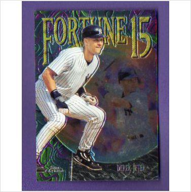 1999 Topps Chrome Fortune 15 #FF3 Derek Jeter