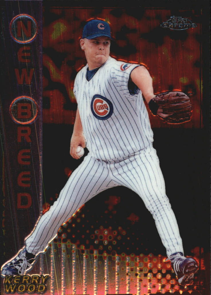1999 Topps Chrome New Breed #NB3 Kerry Wood