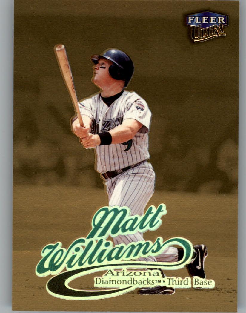 1999 Ultra Gold Medallion #53 Matt Williams