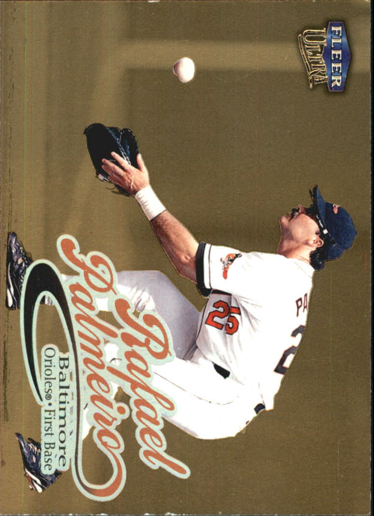 1999 Ultra Gold Medallion #143 Rafael Palmeiro