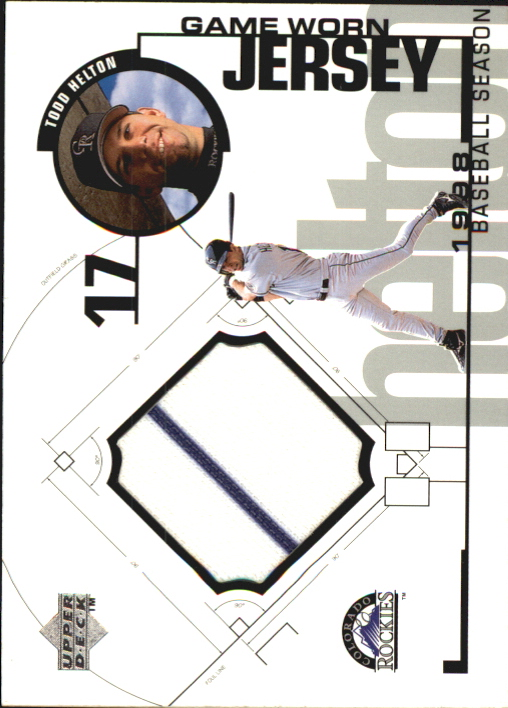 1999 Upper Deck Game Jersey #TH Todd Helton H2