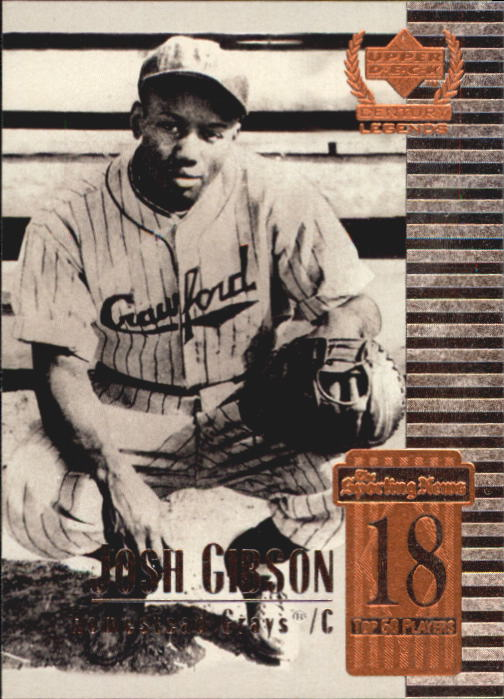 1999 Upper Deck Century Legends #18 Josh Gibson