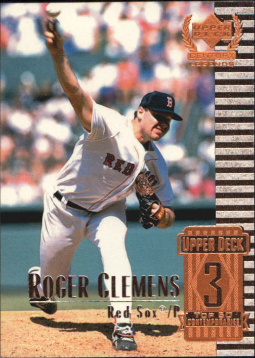 1999 Upper Deck Century Legends #53 Roger Clemens