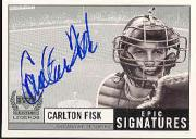1999 Upper Deck Century Legends Epic Signatures #CF Carlton Fisk