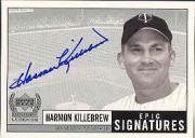 1999 Upper Deck Century Legends Epic Signatures #HK Harmon Killebrew