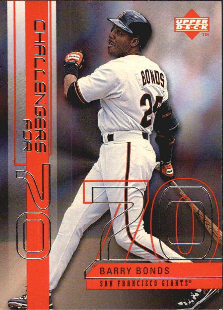 1999 Upper Deck Challengers for 70 Challengers Inserts #C10 Barry Bonds