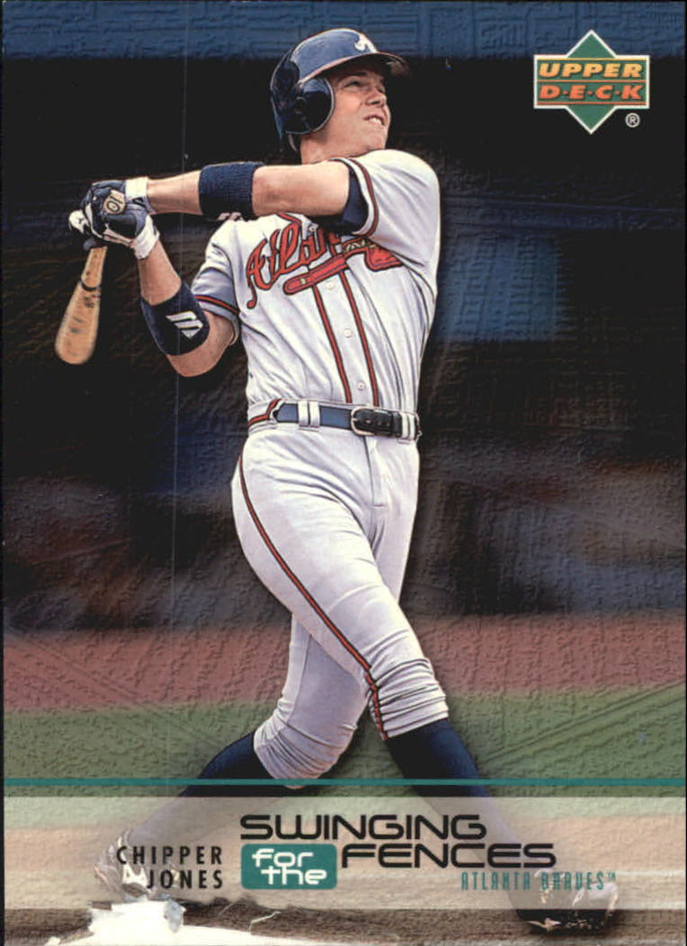 1999 Upper Deck Challengers for 70 Swinging for the Fences #S9 Chipper Jones