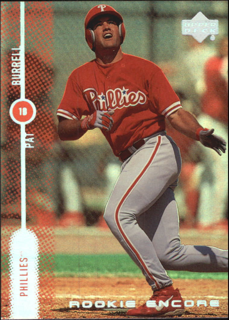 1999 Upper Deck Encore Rookie Encore #R10 Pat Burrell