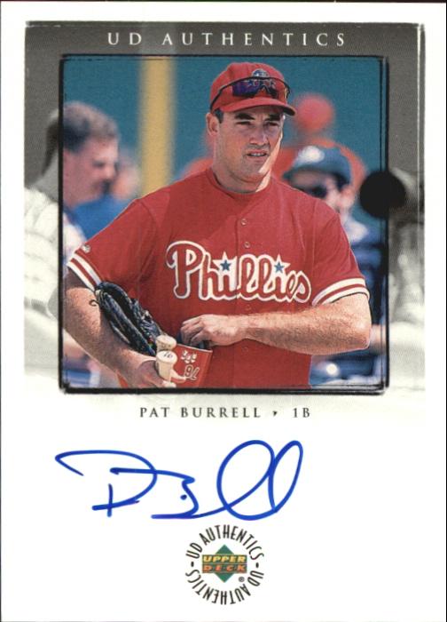 1999 Upper Deck Encore UD Authentics #PB Pat Burrell