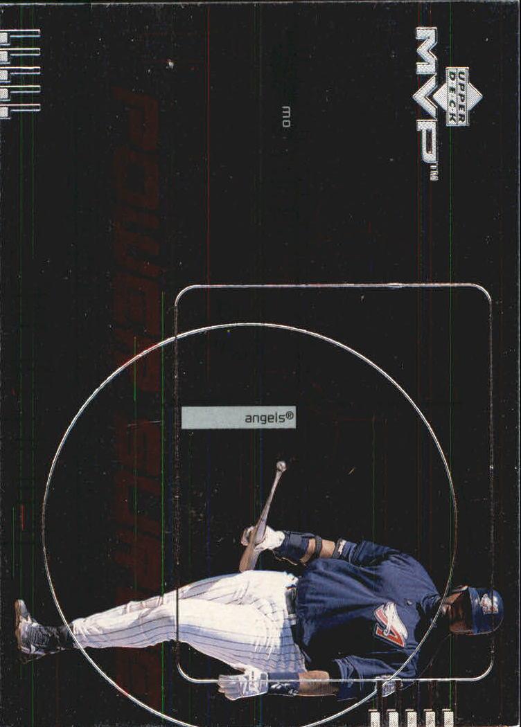 1999 Upper Deck MVP Power Surge #P14 Mo Vaughn