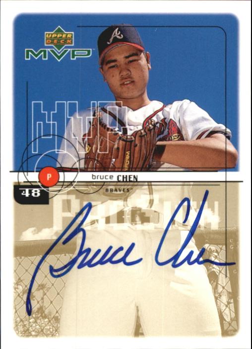 1999 Upper Deck MVP ProSign #BC Bruce Chen