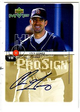 1999 Upper Deck MVP ProSign #CG Chris Gomez