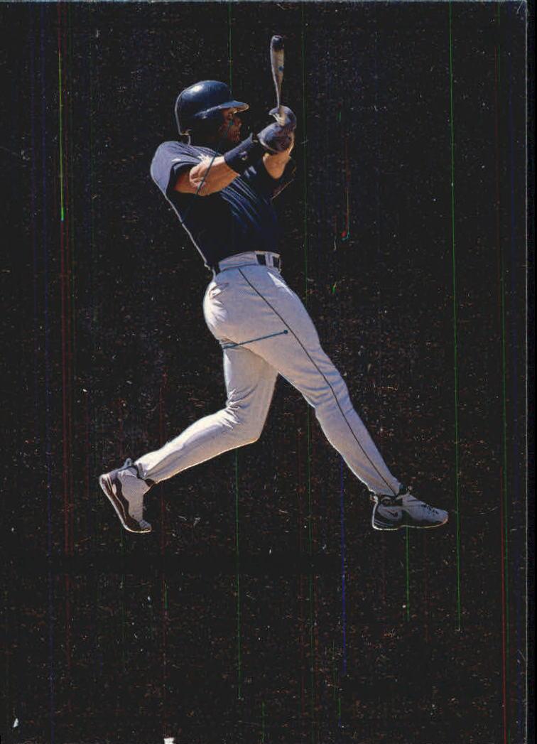 1999 Upper Deck MVP Swing Time #S1 Ken Griffey Jr.
