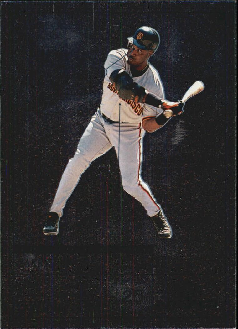 1999 Upper Deck MVP Swing Time #S7 Barry Bonds